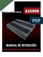 Manual a2500