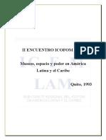 II Encuentro - Quito 1993