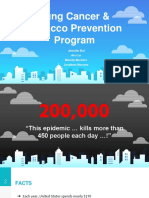 lung cancer   tobaaco prevention program