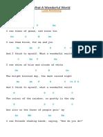 What a Wonderful World Lirycs and Chords.pdf