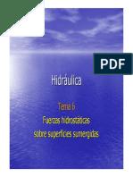 175087632 Fuerza Hidrostatica en Superficies Planas Inclinadas y Curvas