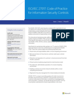 ISO IEC 27017 Backgrounder