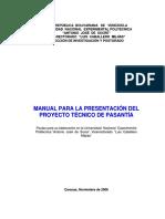 Manual Proyecto de Pasantia