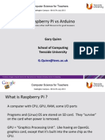 Session - Raspberry Pi and Arduino