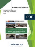Capitulo Xvi - Comportamiento de Pavimentos