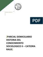 Parcial Domiciliario Sociologico