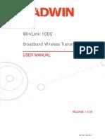 User Manual 1 Radwin
