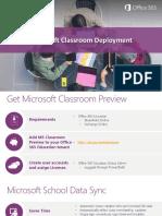 3a Microsoft Classroom Deployment