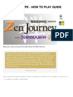 Zen Journey PE – How to Play Guide