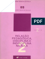 Disciplina e Indisciplina Na Aula - Teresa Estrela