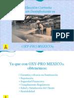 DESINFECTANTE Y SANITIZANTE OXY-PRO MEXICO