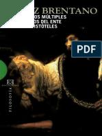 BRENTANO_Sobre los múltiples significados del ente según Aristóteles..pdf