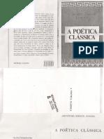 Aristoteles Horacio Longino - A Poetica Cropped