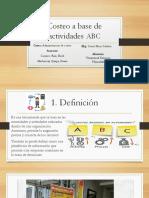 Costeo ABC Exposicion