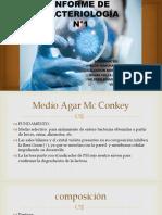 Trabajo de Bacteriologia Enterobacterias