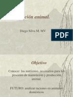 Nutrición Animal, Agua.