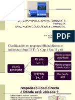 787 Responsabilidad Directa e Indirecta Cccn 2015 Pq Sf