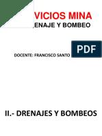 Drenaje y Bombeos