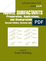 Novel Surfactants Preparation Applications and Biodegradability, Second Edition, Revised and Expanded (Krister Holmberg)