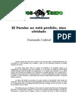 El Paraiso No Está Perdido, Sino Olvidado - Facundo Cabral