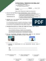 Prueba Diagnostico Emprendimiento 2018-19