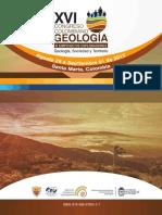 XVI Congreso Colombiano de Geología