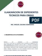 Elaboracion de Expedientes Tecnicos - Capi Chicalayo 2014