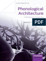 (Oxford Studies in Biolinguistics) Bridget D. Samuels-Phonological Architecture_ a Biolinguistic Approach-Oxford University Press (2011)