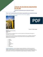 Las 5 Características de Las Barras Espumantes Para Extracción de Gas