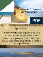Estudo as 7 Igrejas Da Ásia - 1ª Éfeso