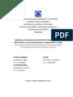 """Jennifer Rondã""""n Entregado a Pasantia"""