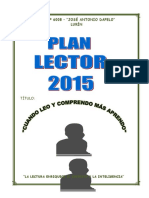 Plan Lector Dapelo 2015