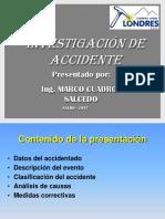 Presentacion Del Accidente Fernando Cuadros