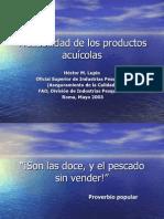 Trazabilidad de Los Productos Acuicolas