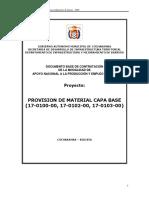 13 PROVISION DE MATERIAL CAPA BASE (17-0100-00, 17-0102-00, 17-0103-00)