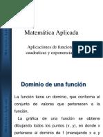 Funciones y Sus Aplicaciones 2018 (1)