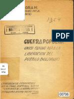 Guerra Popular_oscar Medinaceli