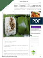 Philippine Food Illustrated_ Pastil