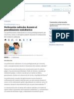 Perforación Radicular Durante El Procedimiento Endodóntico - Artículos - IntraMed