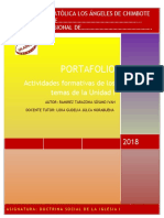 Portafolio I Unidad 2018 DSI I