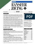 BNA Transfer Pricing