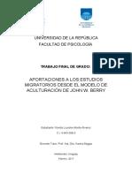 Modelo migratorio - Alvarez