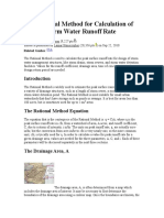 The Rational Method for Calculation of Peak Storm Water Runoff Rate.doc
