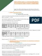 1re S Chimie - TP 04 - Mesure d
