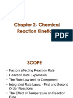 Chemical Kinetics Intro