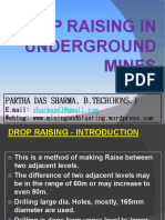 Drop Raising in Underground Mines