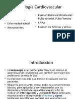 Clase 1 - Hc y Semiología Cardiovascular