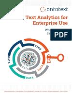 White Paper Text Analytics for Enterprise Use