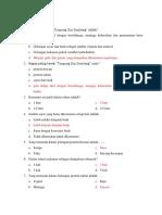 Penyuluhan PGS untuk Lansia (Pre Test / Post Test)