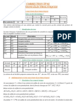 Chimie - Correction TP 02 - Solutions lectrolytiques